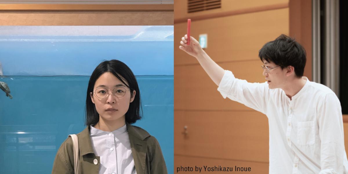 サークル・ナレーティング Section #01 佐藤朋子、関川航平〈テーブルにて〉
