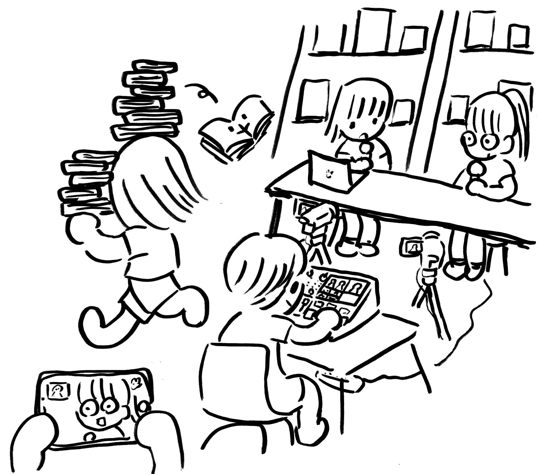 [月火休・お盆休]コ本や honkbooks 8月の休業日のお知らせ